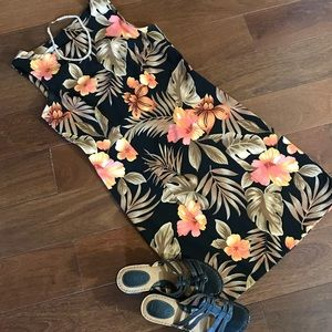 Tropical Hibiscus Dress by Dressbarn